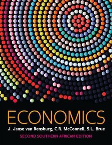 Economics: van Rensburg, J