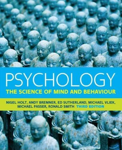 9780077169848: Psychology: The Science of Mind and Behaviour