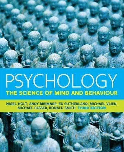 9780077169848: Psychology (UK Higher Education Psychology)