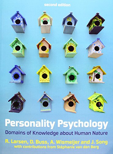 9780077175177: Personality Psychology: Domains of Knowledge About Human Nature