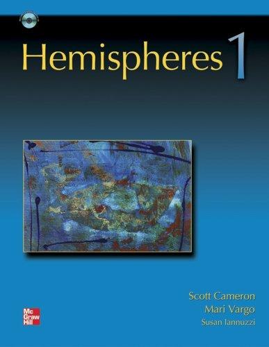 Hemispheres 1 Student Book with Audio Highlights [Paperback]: Scott Cameron; Mari Vargo