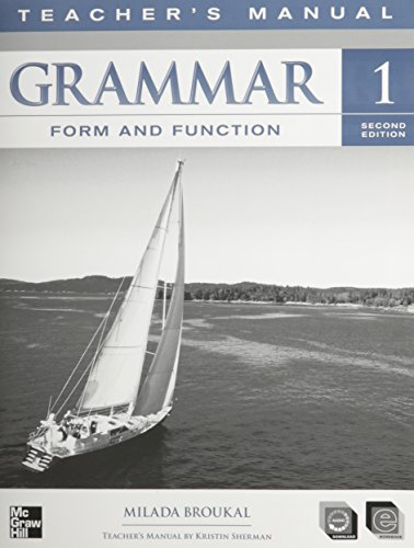 9780077192266: Grammar Form and Function Level 1 Teacher's Edition