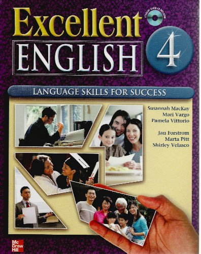 9780077192877: Excellent English 4 Student Book with Audio Highlights CD