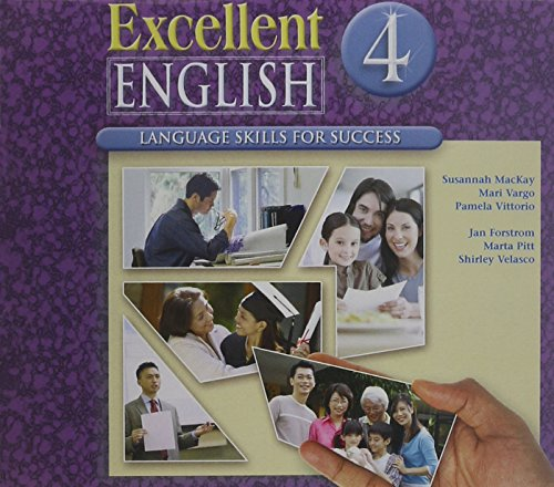 9780077194666: Excellent English Level 4 Audio CDs (2): Language Skills For Success