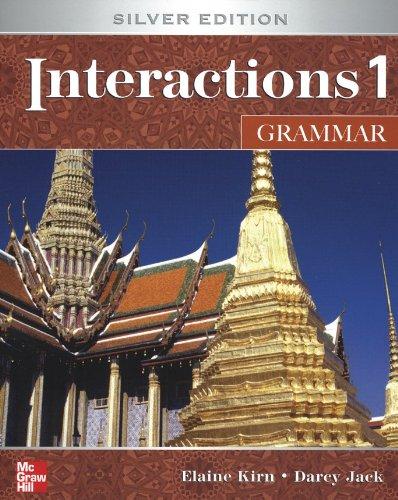 9780077195328: Interactions 1 Grammar Student e-Course Standalone Code: Silver Edition