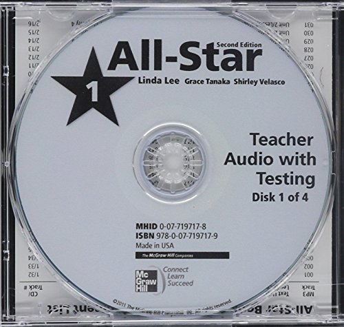 9780077197179: All Star Level 1 Teacher Audio with Testing