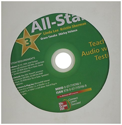 9780077197469: All Star Level 3 Teacher Audio with Testing MP3 Format