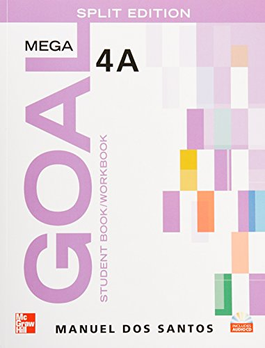 9780077198329: MEGA GOAL 4A SPLIT EDITION CON CD