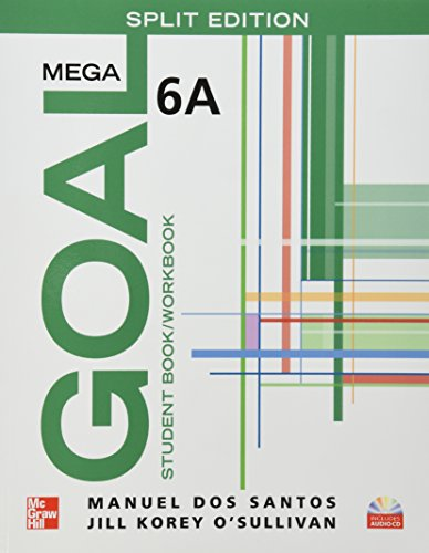 9780077198404: MEGA GOAL 6A SPLIT EDITION CON CD