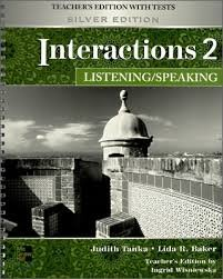 9780077202521: Interactions Level 2 Listening/Speaking Teacher's Edition plus Key Code for E-Course