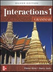 9780077202613: Interactions Level 1 Grammar Teacher's Edition plus Key Code for E-Course