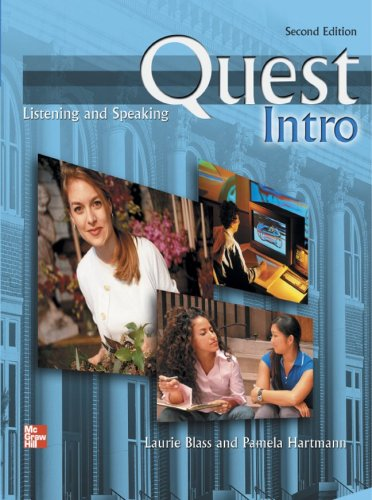 9780077202828: Quest Listening and Speaking, 2nd Edition - Intro Level (Low Intermediate) - Student Book w/ Full Audio Download