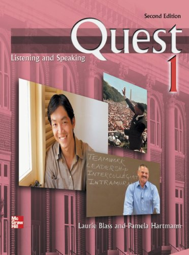 9780077202842: Quest Listening and Speaking, 2nd Edition - Level 1 (Low Intermediate to Intermediate) - Student Book w/ Full Audio Download