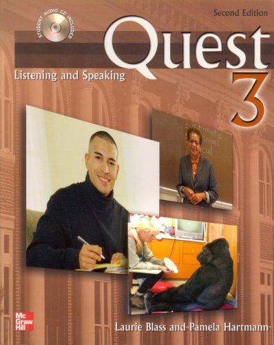 9780077202866: Quest Listening and Speaking, 2nd Edition - Level 3 (Low Advanced to Advanced) - Student Book w/ Full Audio Download
