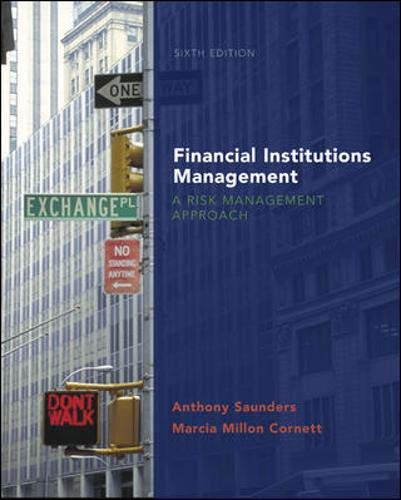 9780077211332: Financial Institutions Management: A Risk Management Approach with S&P card (McGraw-Hill/Irwin Series in Finance, Insurance and Real Estate)