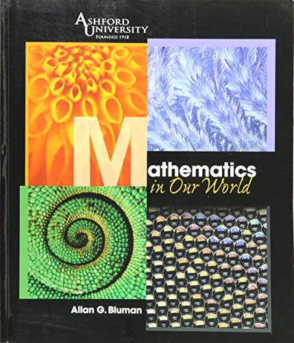 9780077212049: Mathematics in Our World (Ashford University)