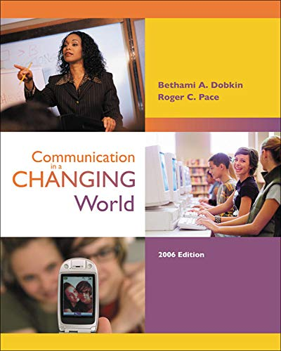 9780077212186: Communication in a Changing World with CD-ROM 2.0