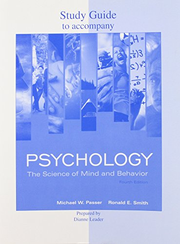 9780077215002: Study Guide to Accompany Psychology: The Science of Mind and Behavior 4th Edition