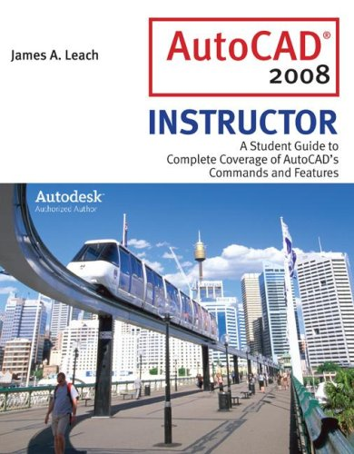 9780077216085: MP AutoCAD 2008 Instructor w/ AutoDesk 2008 Inventor DVD