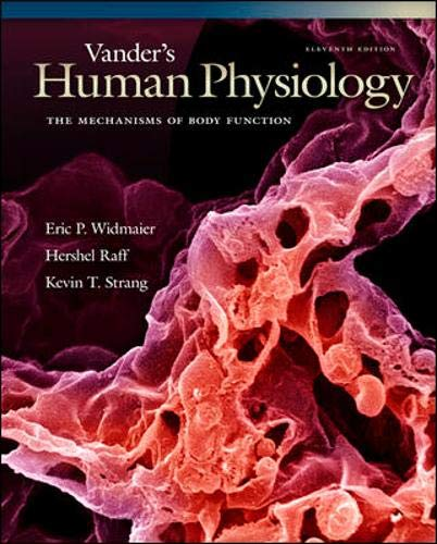 9780077216092: Vander's Human Physiology: The Mechanisms of Body Function with ARIS (HUMAN PHYSIOLOGY (VANDER))