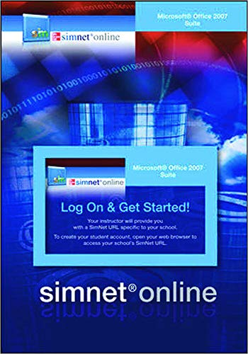 9780077218645: SimNet for Office 2007 Office Suite Registration Card