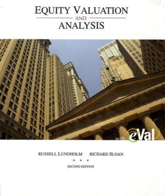 9780077219857: MP Equity Valuation and Analysis with eVal CD and Pass Code Card