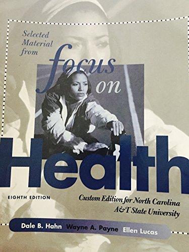 9780077220006: Focus on Health (Custom Edition for North Carolina A&T State University)