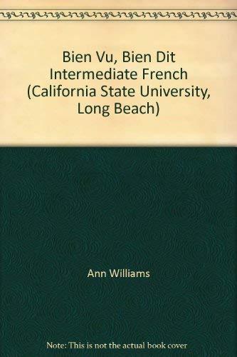 9780077220952: Bien Vu, Bien Dit Intermediate French (California State University, Long Beach)