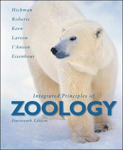 Integrated Principles of Zoology: Hickman, Jr., Cleveland;