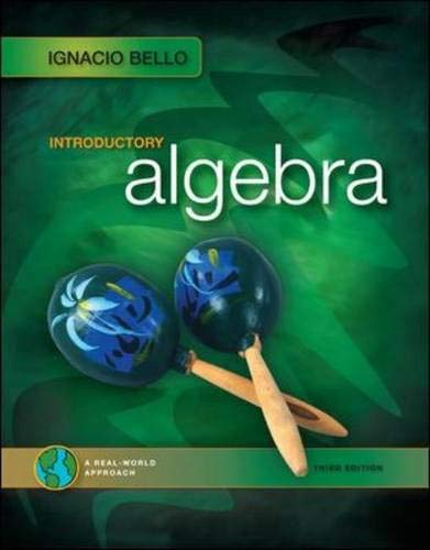 9780077224783: Introductory Algebra