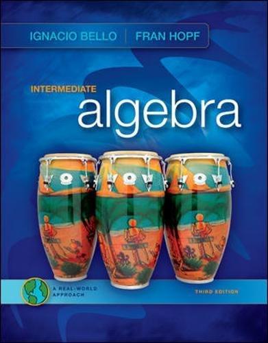 Intermediate Algebra: Ignacio Bello, Fran