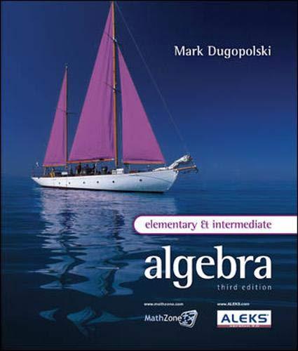 9780077224820: Elementary and Intermediate Algebra