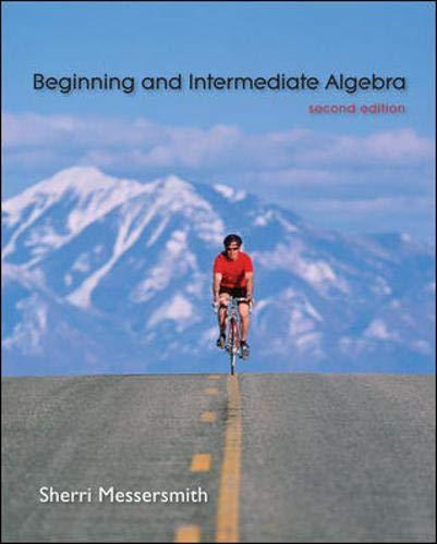 9780077224837: Beginning and Intermediate Algebra