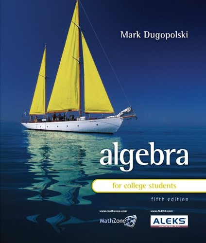 9780077224844: Algebra for College Students