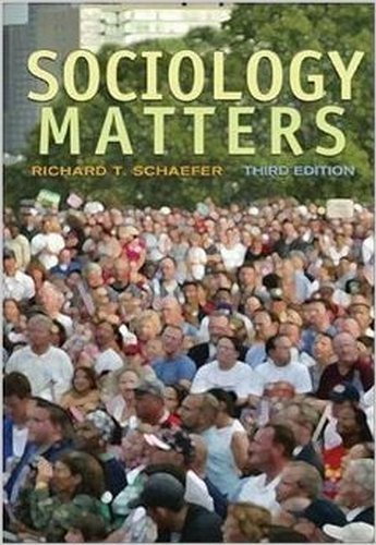 9780077225537: Sociology Matters with Additional Materials