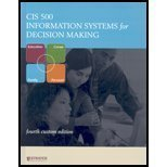 9780077225766: Cis 500: Information Systems for Decision Making-Text (Custom)