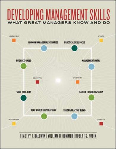 9780077225957: Developing Management Skills: What Great Managers Know and Do