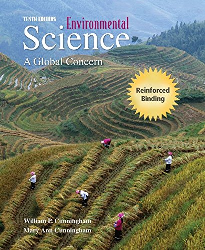 9780077226367: Environmental Science: A Global Concern (NASTA Hardcover Reinforced High School Binding)
