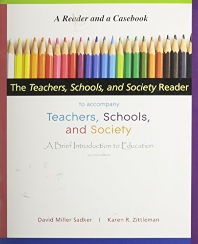 9780077226787: The Teachers, Schools, and Society Reader to accompany Teachers, Schools, and Society, A Brief Intro