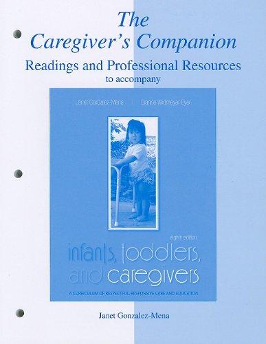 The Caregiver's Companion: Janet Gonzalez-Mena