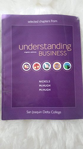 9780077228323: Understanding Business [Selected Chapters for San Joaquin Delta Colleg]
