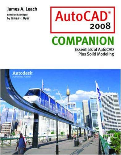 9780077228699: AutoCAD 2008 Companion with AutoDESK 2008 Inventor DVD
