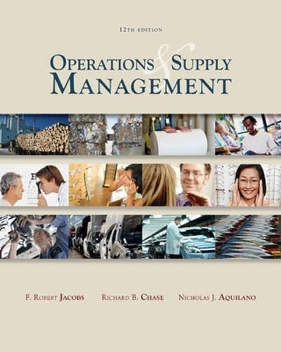 Operations and supply management (with dvd), 12/e.