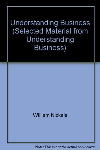 9780077229245: Understanding Business (Selected Material from Understanding Business)