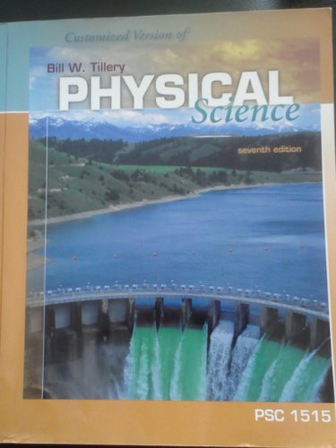 9780077229641: Customized Version of Physical Science Seventh Edition