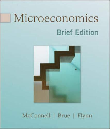 9780077230982: Microeconomics, Brief Edition