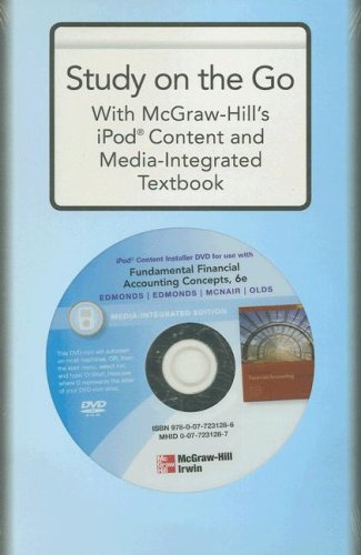 9780077231286: iPod Content Installer DVD for Use with Fundamental Financial Accounting Concepts, Media-Integrated Edition