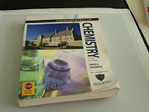 9780077232030: Fundamentals of Chemistry (For The University of Toledo)