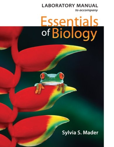 9780077234256: Lab Manual to accompany Essentials of Biology