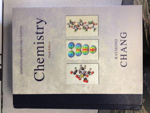 9780077234836: Chemistry (The University of Toledo CHEM 1230-1240 General Chemistry I & II)